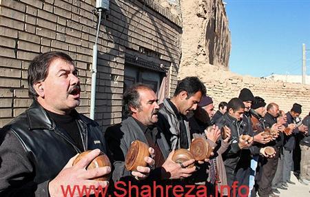 نتیجه تصویری برای هیئت سنگ زن(بنی اسد)شهرستان شهرضا
